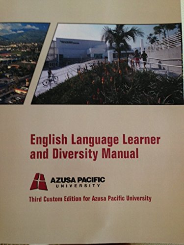 9781256454908: English Language Learner and Diversity Manual