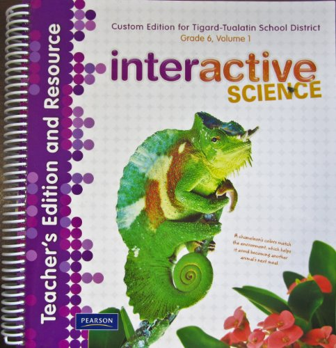 9781256467045: Interactive Science - Ecology and the Environment Grade 6, Vol. 1 [Teacher's Edition and Resource]