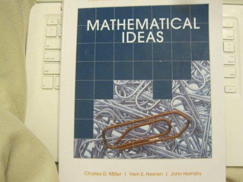 9781256485827: Mathematical Ideas (Custom 12th Edition for Borough of Manhattan Community College)