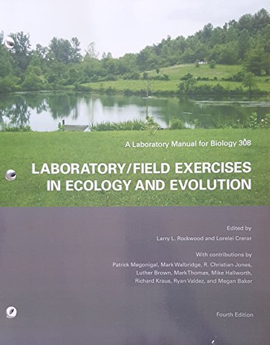 9781256499527: laboratory/field exercises in ecology and evolution