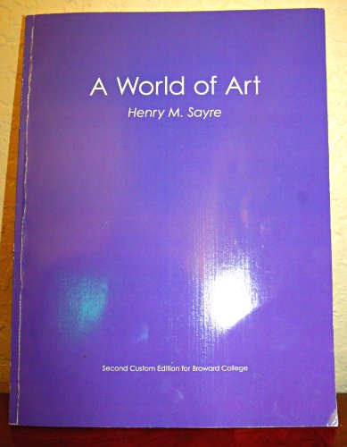 9781256513926: A World of Art (Second Costum Edition)