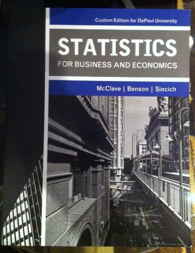 9781256517139: STATISTICS F/BUS.+ECON.>CUSTOM