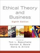 9781256526971: Ethical Theory and Business 8TH EDITION