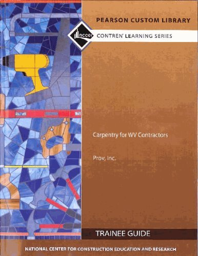 9781256532347: Study Guide for Commercial Carpentry