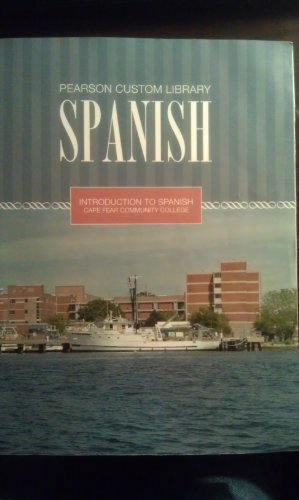 9781256537076: Introduction to Spanish Cape Fear Community College