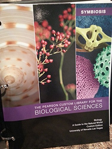 Symbiosis - Pearson Custom Library for the Biological Sciences - Biology a Guide to the Natural ...