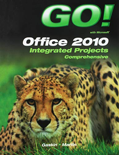 9781256541240: Go! with Office 2010 Integrated Projects
