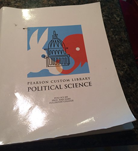9781256549383: Pearson Custom Library Political Science