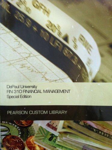 9781256551447: Depaul Univ Fin.310 Financial