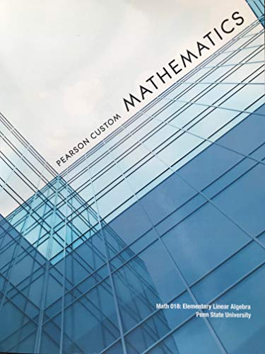 9781256554233: Pearson Custom Mathematics (Penn State University)