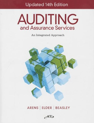 9781256560814: Auditing and Assurance Services: An Integrated Approach