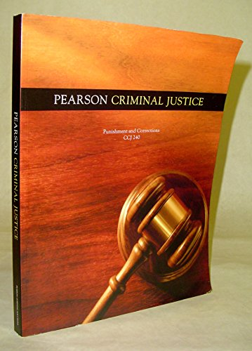 9781256565864: Pearson Criminal Justice : Punishment and Corrections CCJ 240