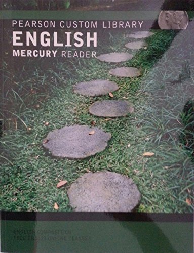 9781256565963: English Mercury Reader (for English Composition FRCC ENG121 Online Classes)