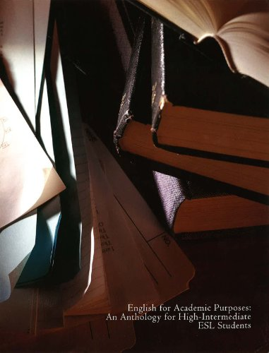9781256567653: English for Academic Purposes: An Anthology for High-intermediate ESL Students
