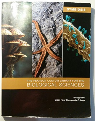 9781256568292: The Pearson Custom Library for the Biological Sciences