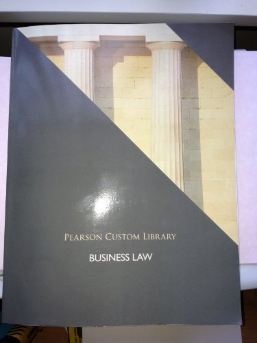 9781256569749: Business Law (Pearson Custom Library)