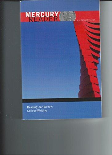 Mercury Reader: English Composition, No. 1: Pearson