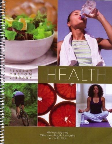 Health: Pearson Custom Library