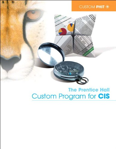 9781256581109: The Pearson Custom Program for CIS: COSC 1301 Microcomputer Applications, South Texas College