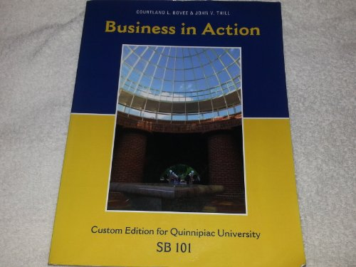 Business in Action (Business in Action Custom: Thill, Courtland L