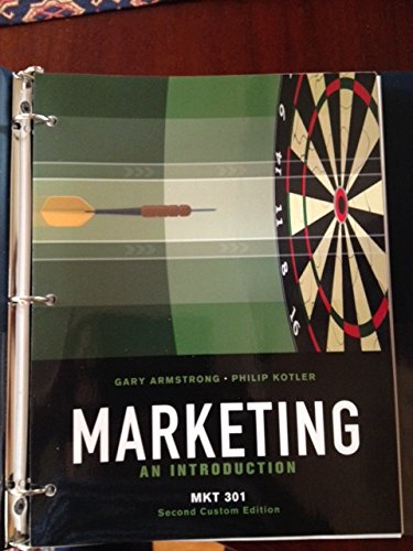 9781256591009: Marketing: An Introduction (Custom Edition for Pennsylvania State University | MKT 301)