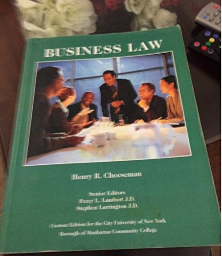 Business law legal environment online commerce business ethics and business law legal environment online commerce business cheeseman henry r fandeluxe Gallery