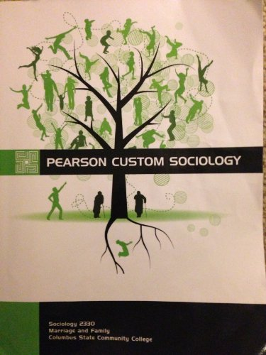 9781256597919: Sociology 2330 Marriage and Family Columbus State Community College Addition