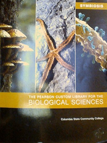 9781256600190: Symbiosis - The Pearson Custom Library for the Biological Sciences, 2014 - Columbia State Community College