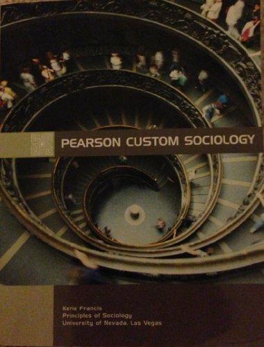 UNLV Sociology Custom Textbook by Kerrie Francis: Francis, Kerie