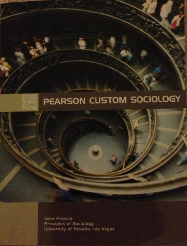 9781256603696: UNLV Sociology Custom Textbook by Kerrie Francis