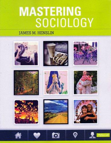 Mastering Sociology: Henslin, James M.