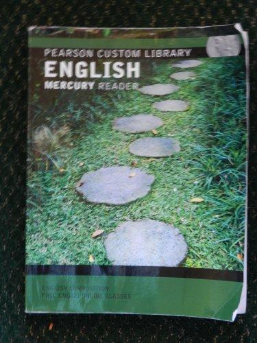 9781256607007: Pearson Custom Library English Mercury Reader