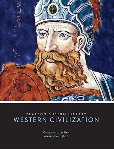 9781256610052: Civilization in the West Volume 1(to 1715), 7/e