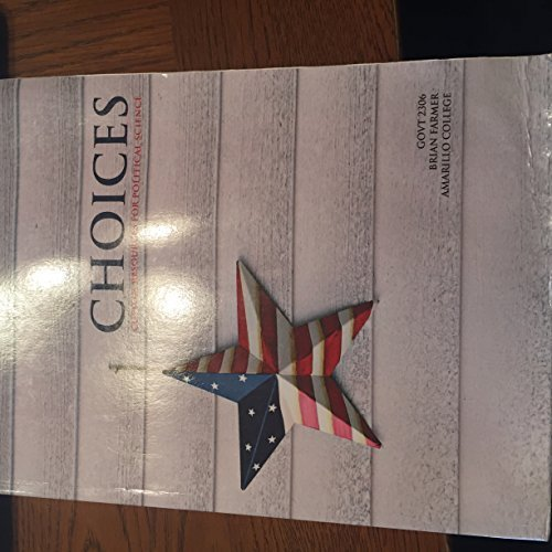 9781256620235: Choices - Custom Resources For Political Science