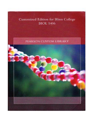 Customized Edition for Blinn College BIOL 1406: n/a