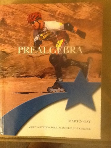 9781256627456: Prealgebra (Custom Edition for Los Angeles City College)