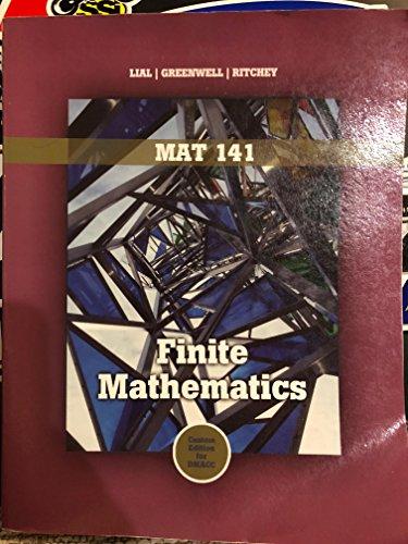 9781256636953: Finite Mathematics