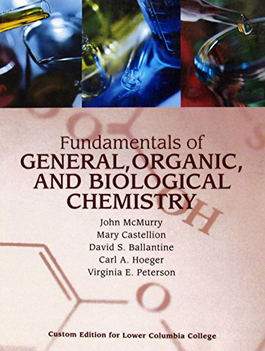 Fundamentals of General, Organic, and Biological Chemistry: MCMURRY