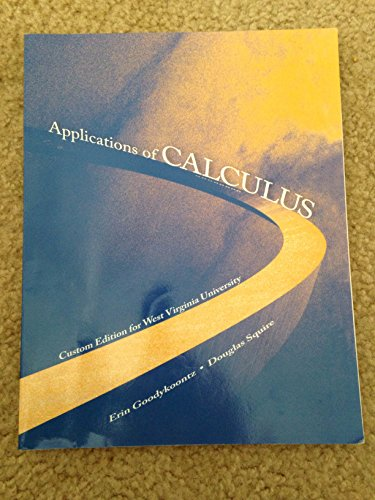 9781256639244: applications of calculus