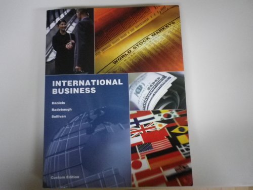 International Business: John D. Daniels,