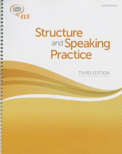 9781256649670: Dickinson: Structure and Speaking Practice (3rd Edition)