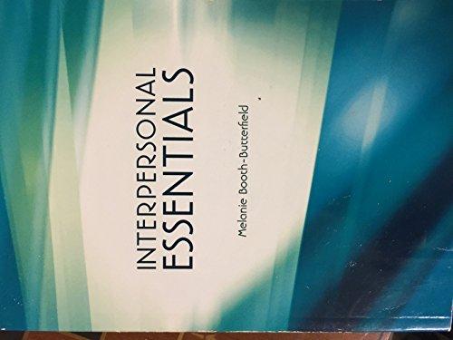 9781256654520: Interpersonal Essentials
