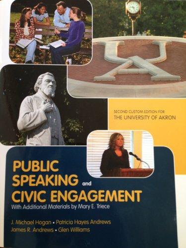 Public Speaking and Civic Engagement (UAkron): J. Michael Hogan;