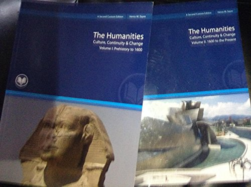 9781256662617: The Humanities Custom Edition (Culture Continuity and Change - Volume 1-2)