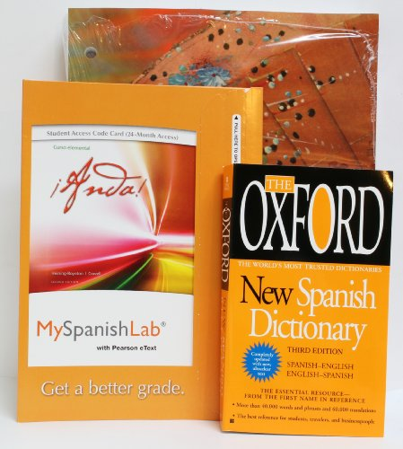 9781256667964: Pearson Custom Library Package- Spanish 101/102 for Purdue University Calumet Textbook, Oxford New Spanish Dictionary, and 24 Month Online Student Access Card