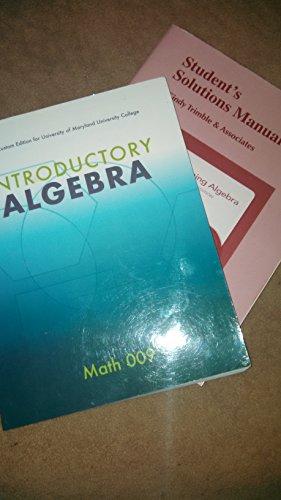 Introductory Algebra (3rd Custom Edition for University: Elayn Martin-Gay