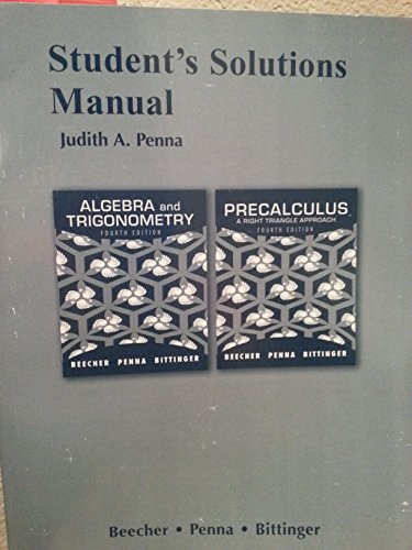 9781256668039: Algebra and Trigonometry