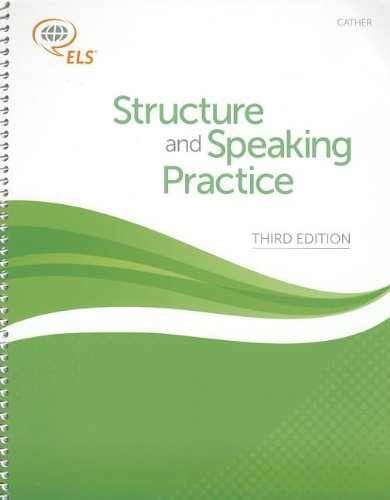 9781256671299: CATHER: Structure and Speaking Practice (3rd Edition)