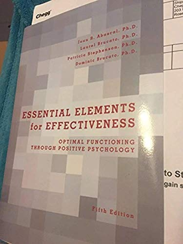 9781256675112: ESSENTIAL ELEMENTS F/EFFECTIVE