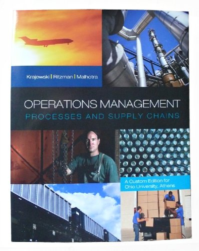9781256677130: Operations Management Processes and Supply Chains (A custom Edition for Ohio University, Athens)